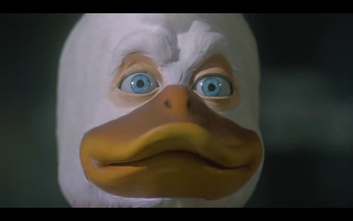 Howard The Duck Creepy